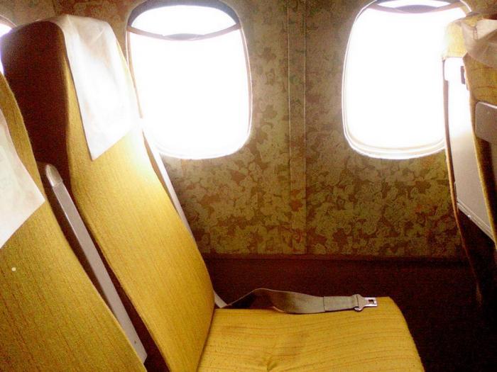 Кресла самолета Ту-154 KrasAir