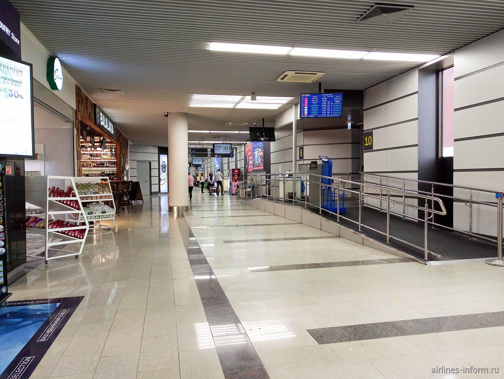 Выход на посадку в аэропорту Сочи
