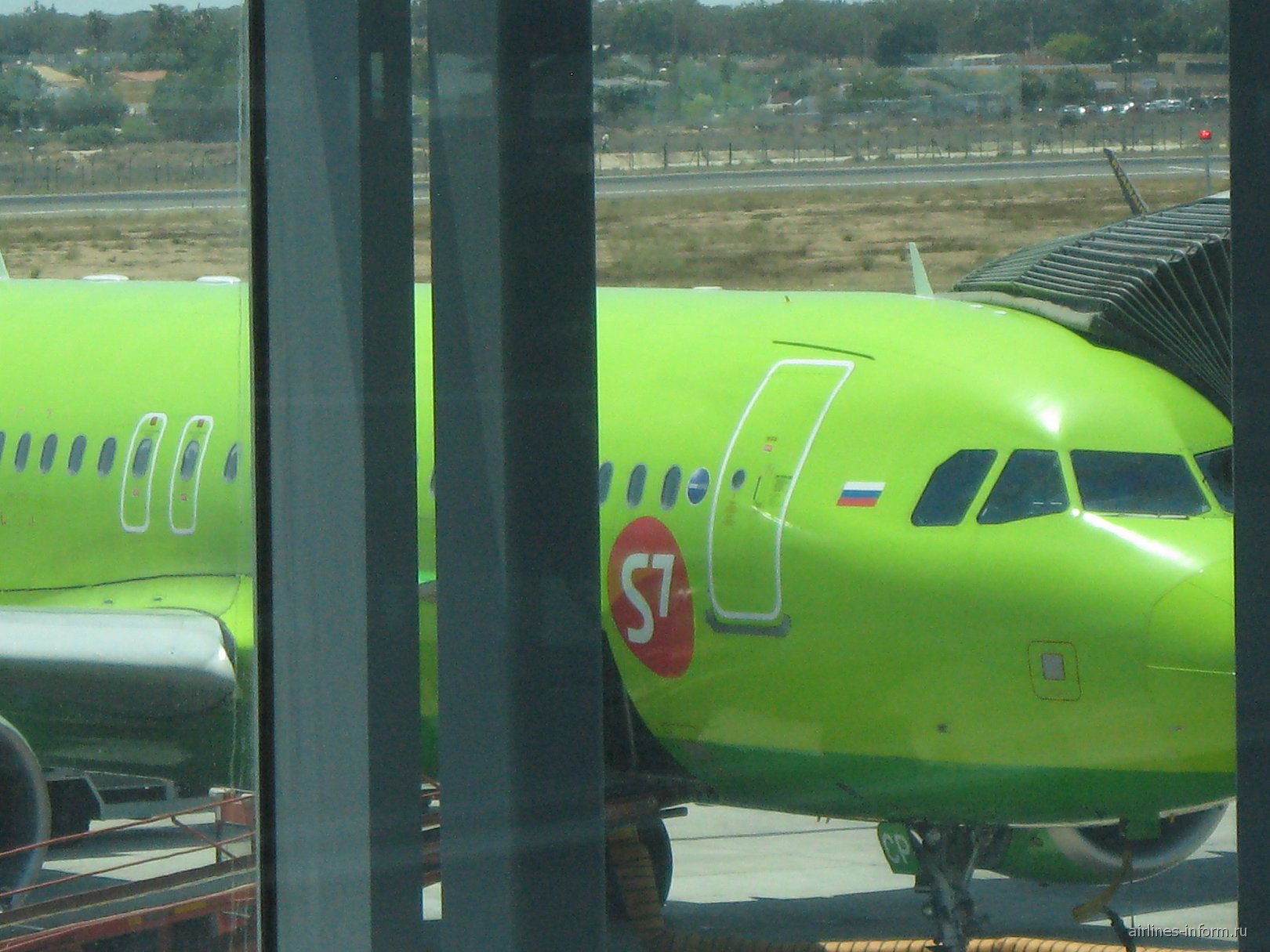 A320 VP-BCP S7 Airlines