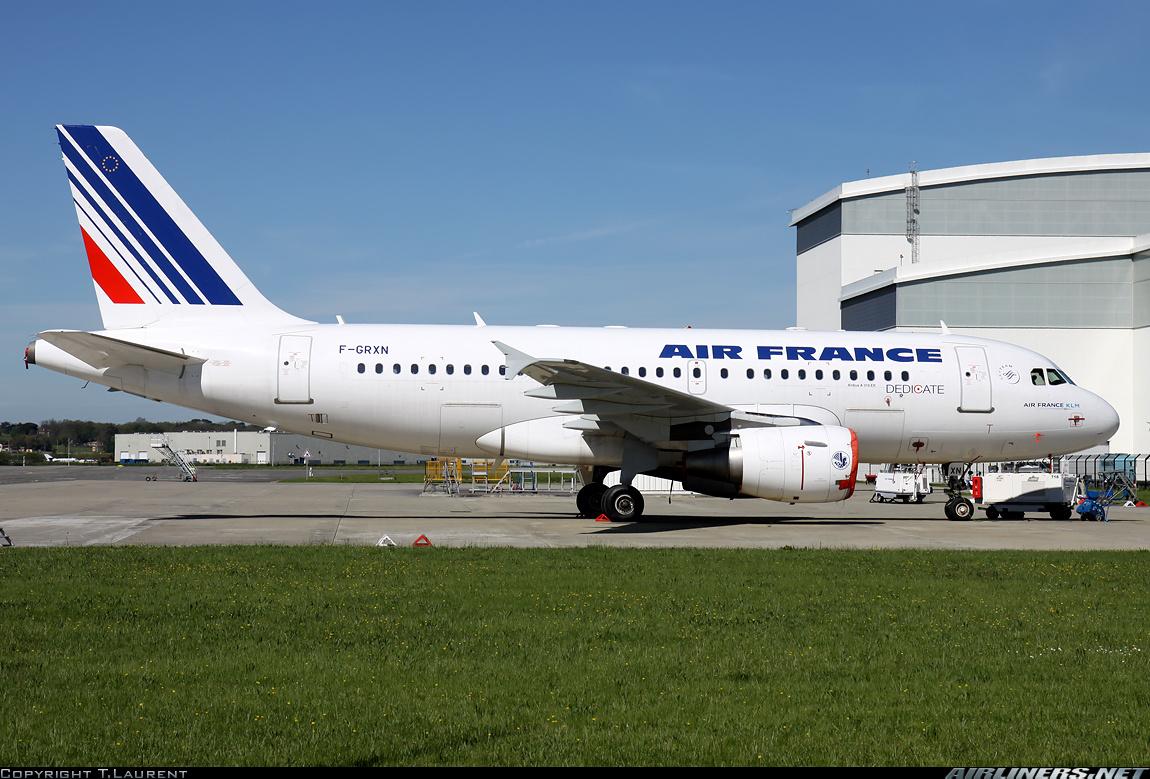 Airbus A319 авиакомпании Эр Франс