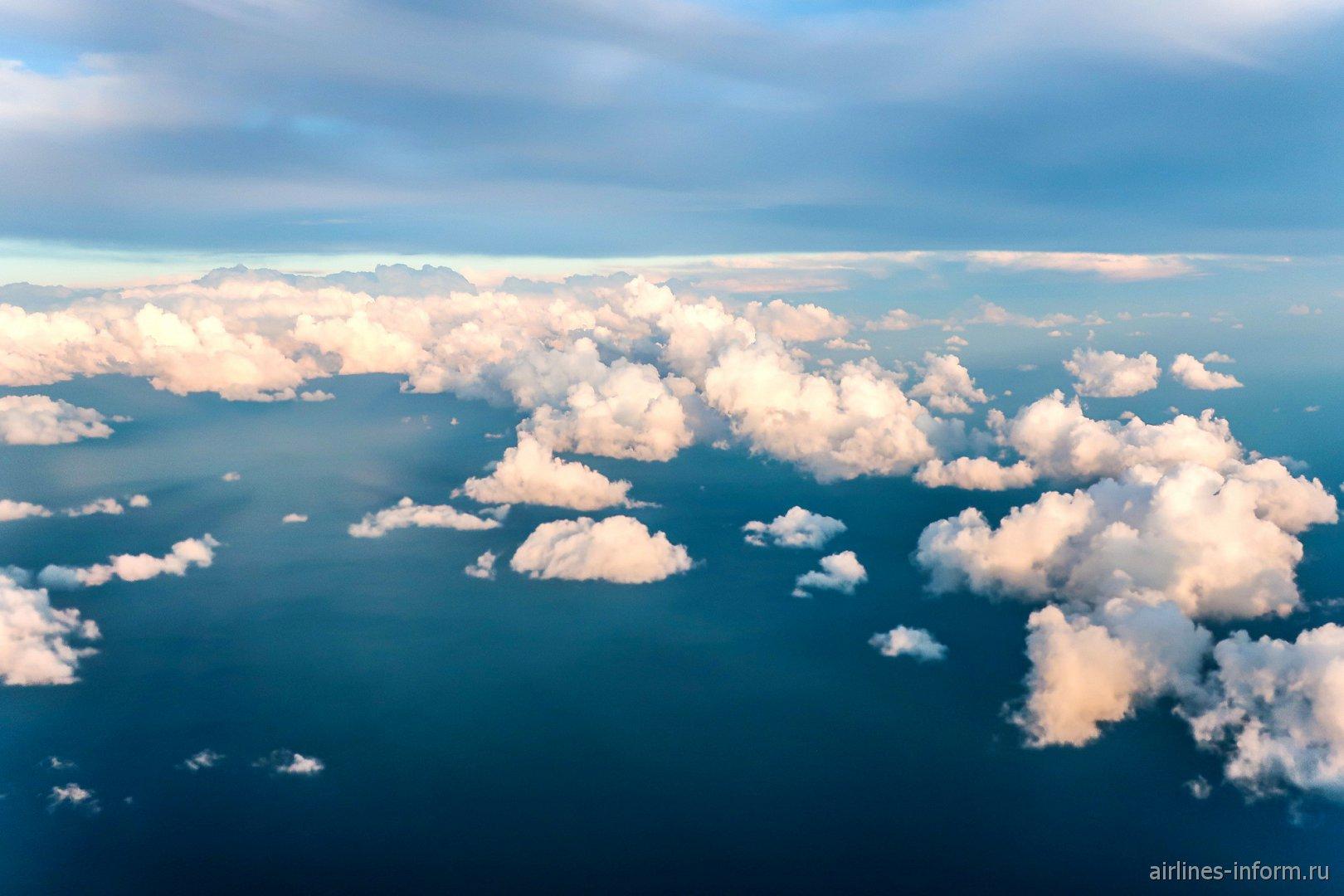 Вечерние облака над Черным морем