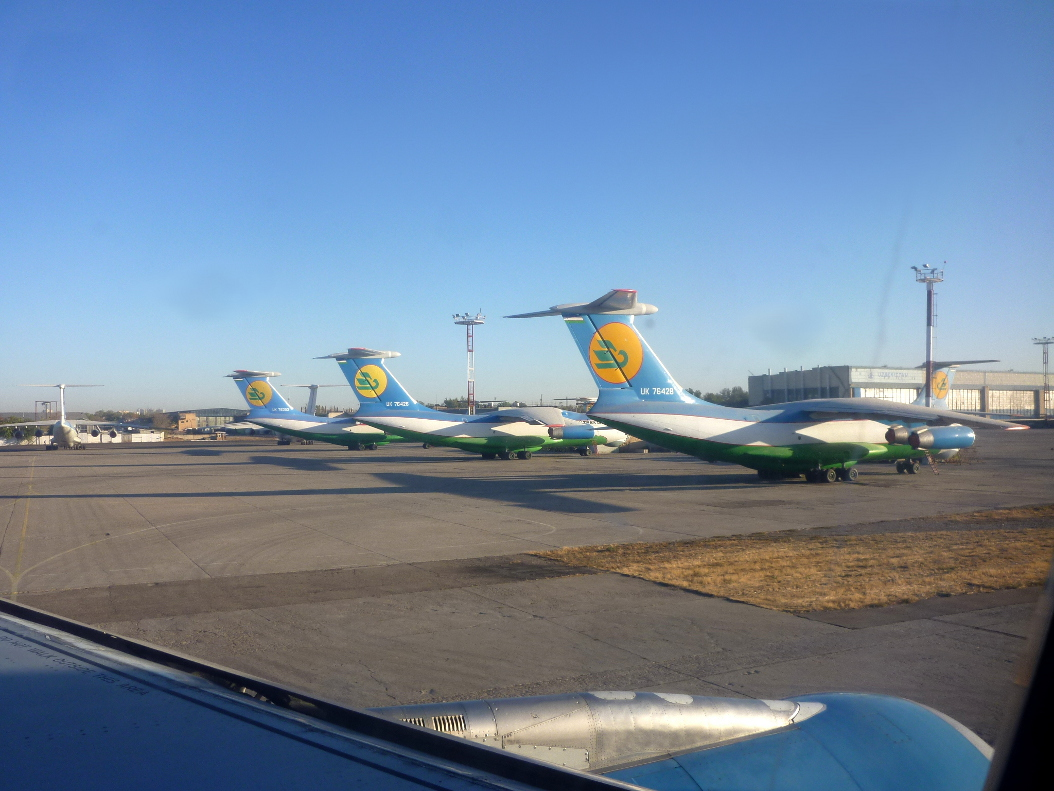 Il-76 of Uzbekistan Airways