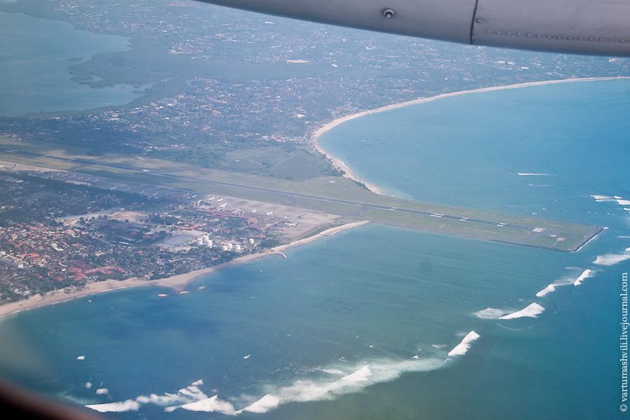 Взлет из аэропорта Денпасар