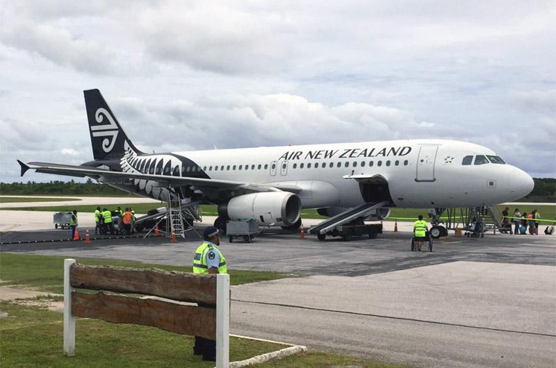 Окленд - Ниуэ с Air New Zealand