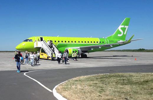 Рейс Москва-Брянск прошлым летом с S7