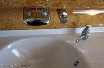 Туалет Airbus A380 Emirates