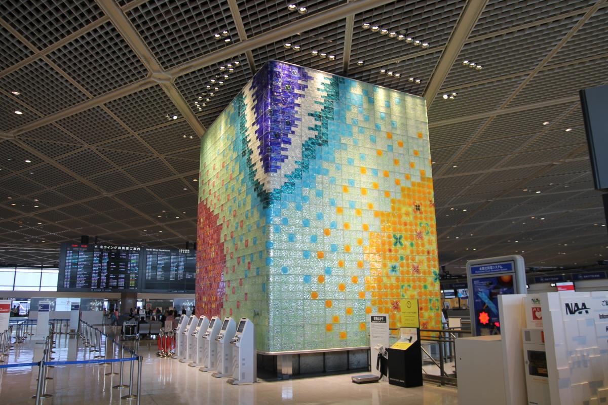 Общий зал терминала 1 аэропорта Токио Нарита