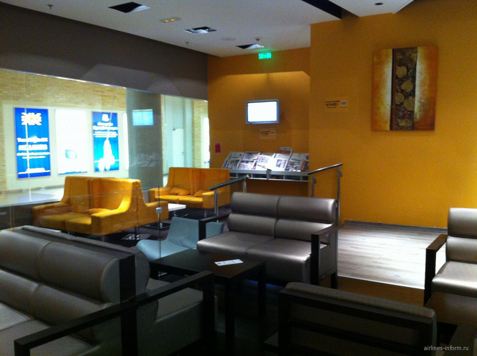 Бизнес-зал аэропорта Пафос