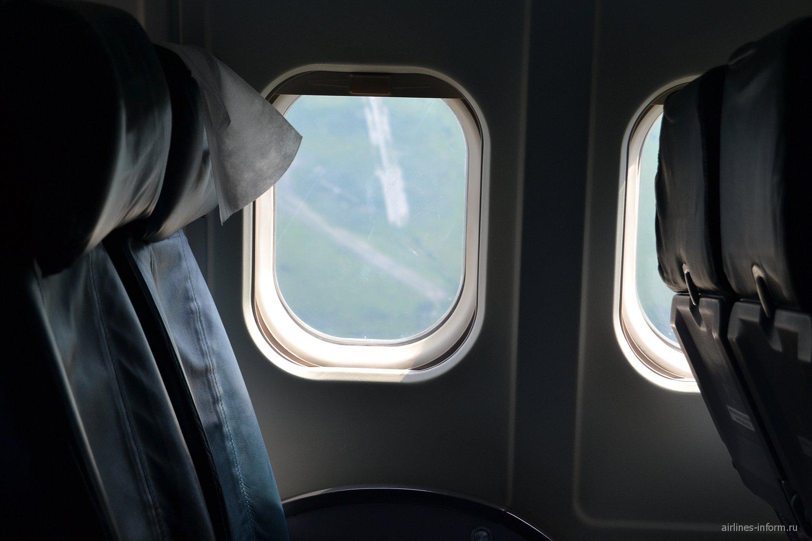 Салон самолета MD-83 MD-83 компании Авиатранс К