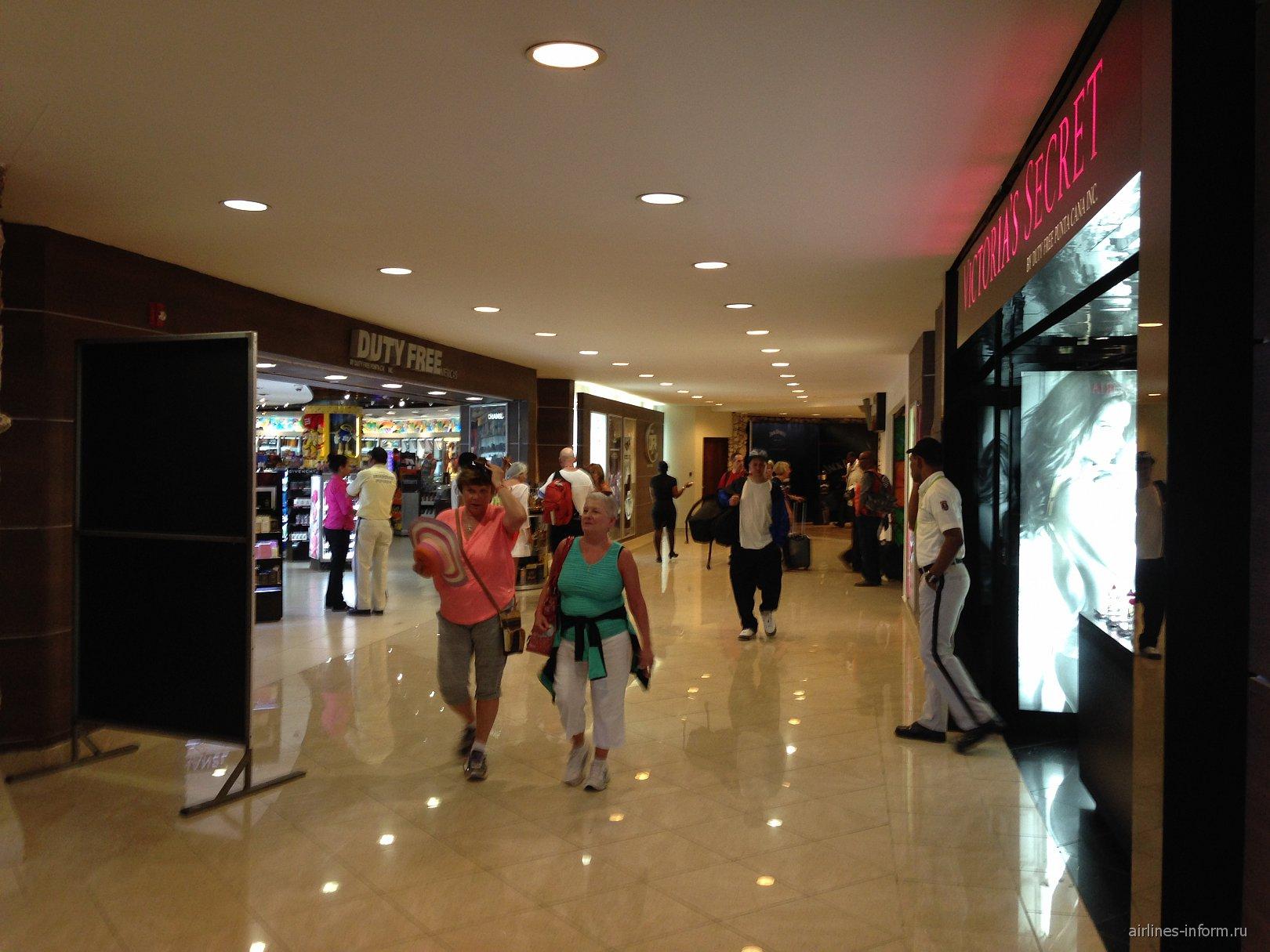 Магазины Duty-Free в аэропорту Пунта-Кана