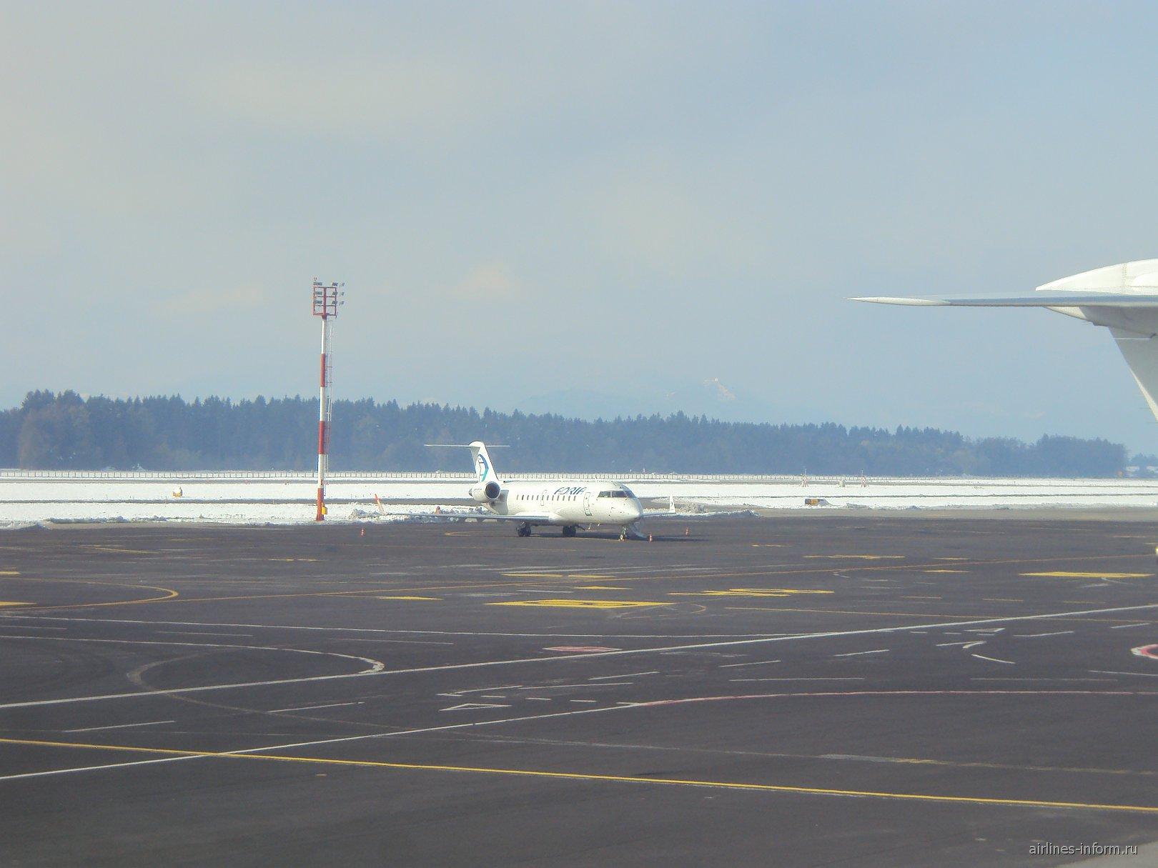 В аэропорту Любляны