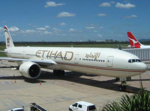 Москва - Абу-Даби - Бангкок авиакомпанией Etihad