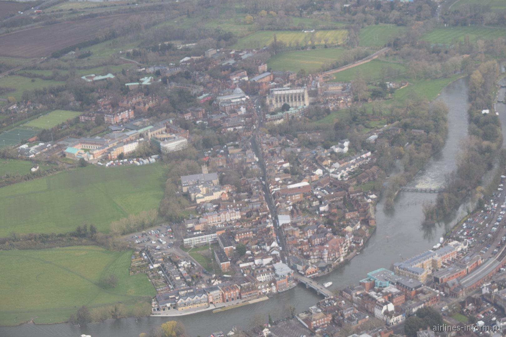 Городок Виндзор в окрестностях Лондона