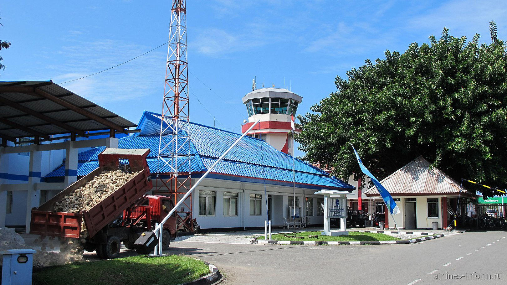 Здание дирекции аэропорта Паттимура