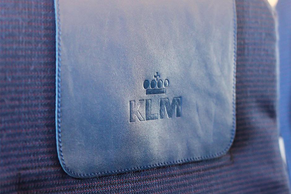 Подголовник авиакомпании KLM Royal Dutch Airlines