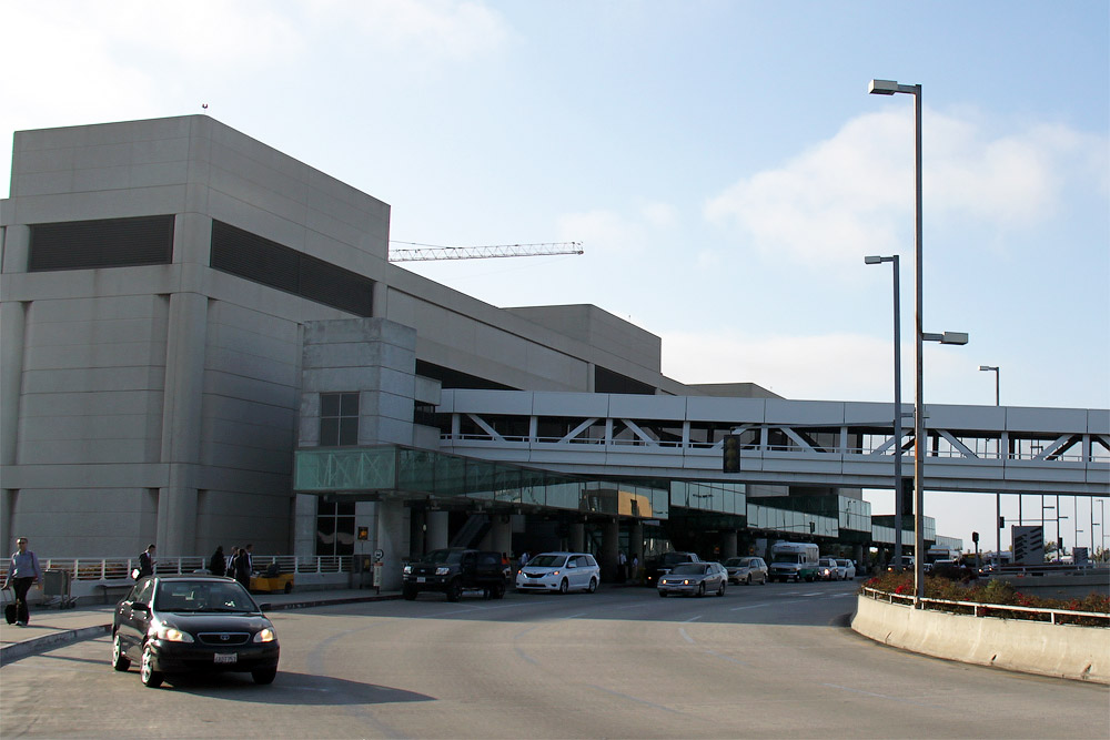 International terminal of the Los Angeles International Airport