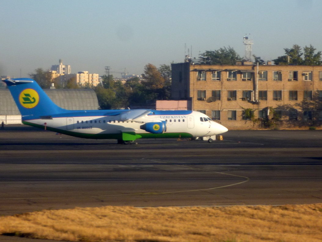 Avro RJ of Uzbekistan Airways