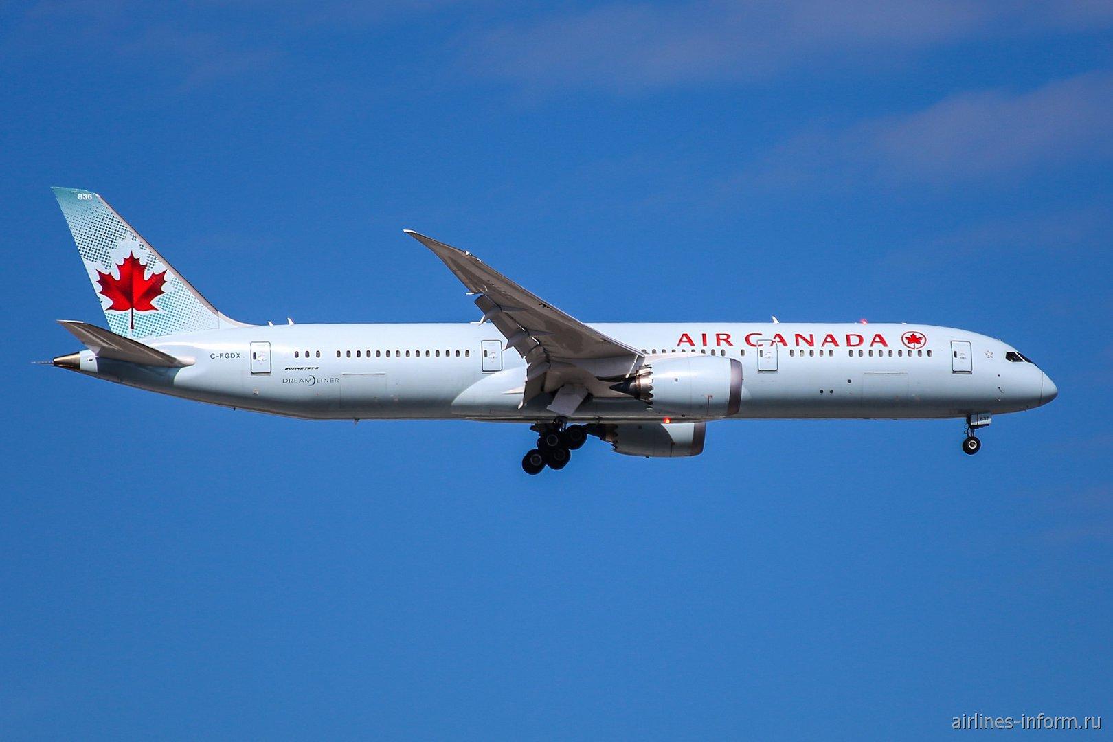 Боинг-787-9 C-FGDX авиакомпании Air Canada