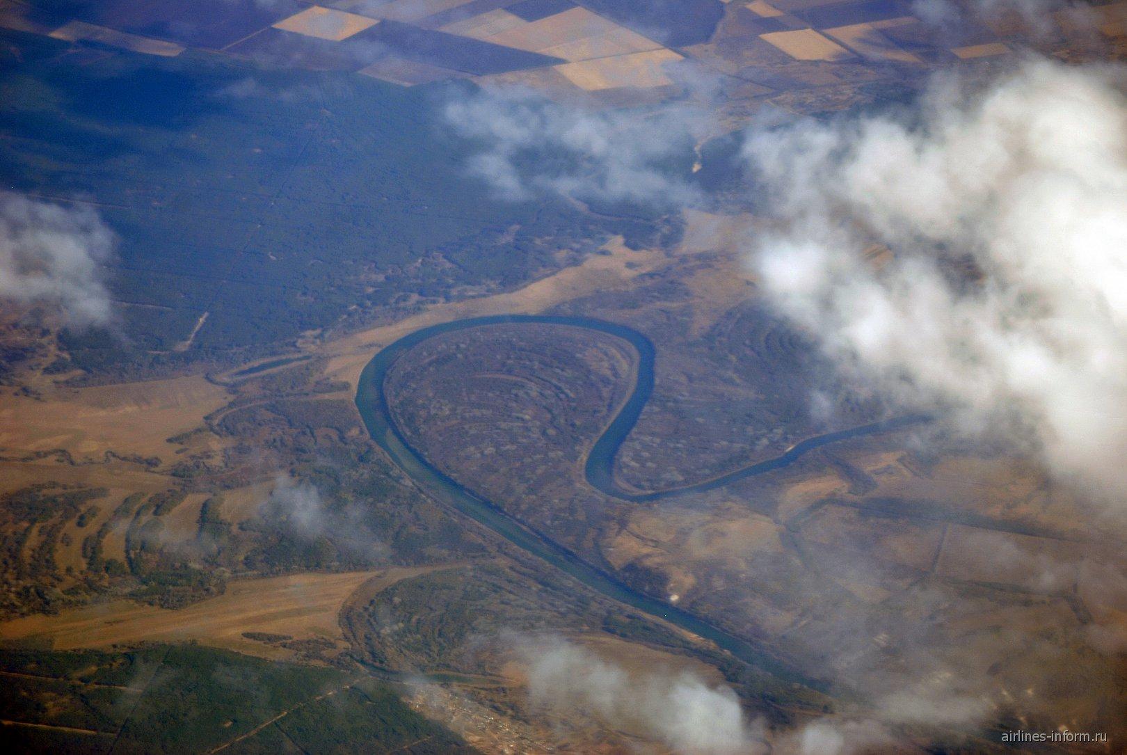 Река в центральной части России