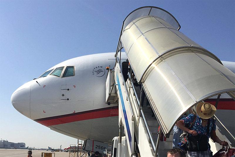 Путешествие на райский остров. Часть 2. Москва(SVO)-Шанхай(PVG) с China Eastern Airlines.