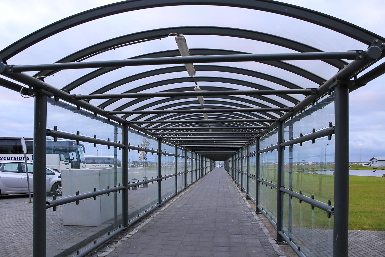 В аэропорту Кефлавик