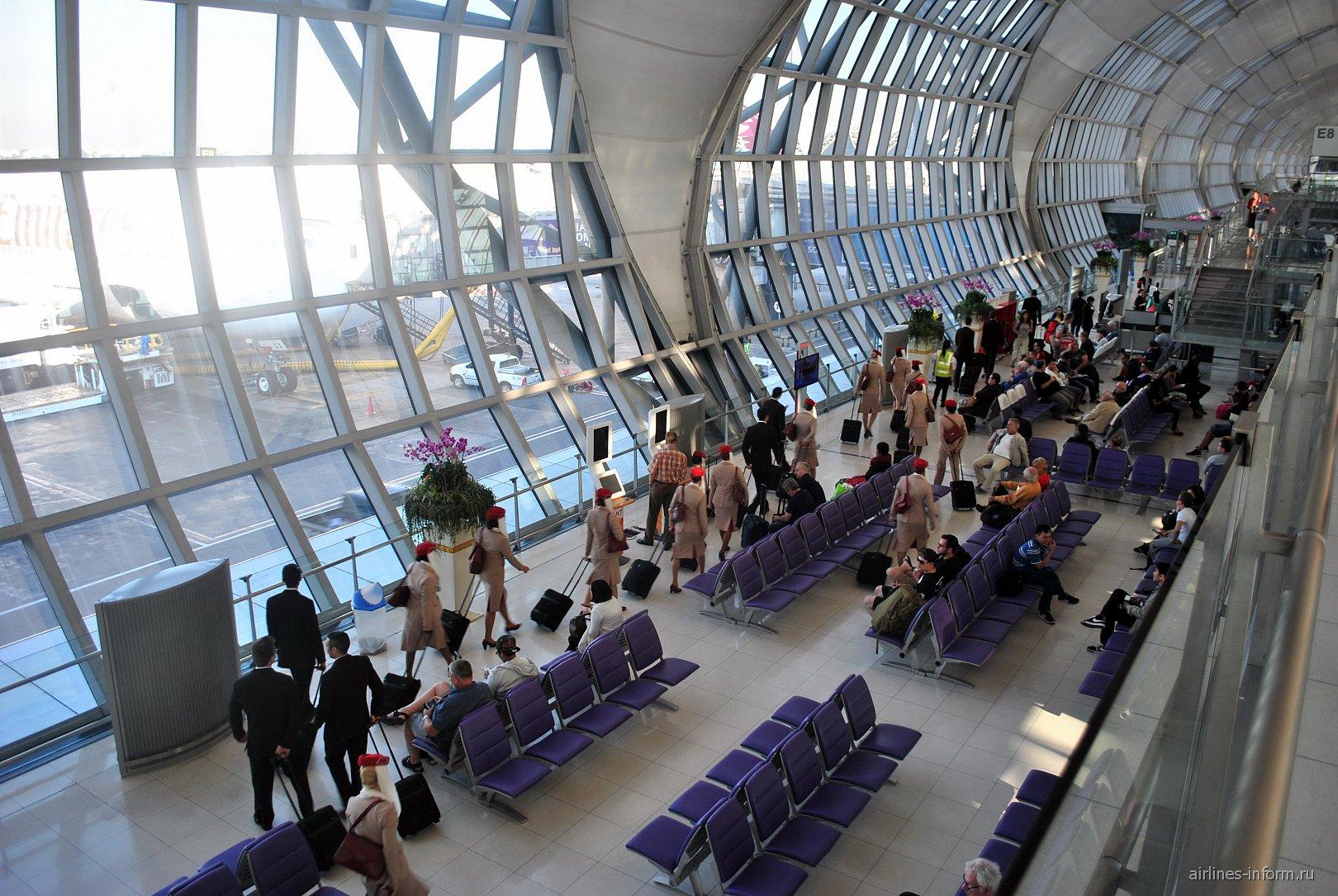Накопители в аэропорту Бангкок Суварнабуми