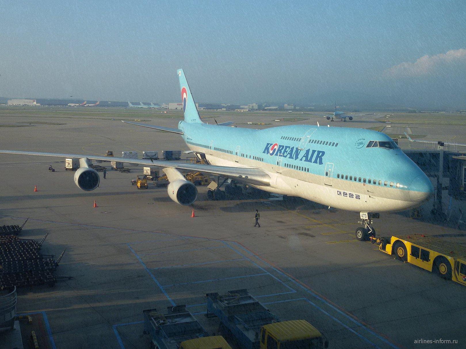 Боинг-747-400 авиакомпании Korean Air