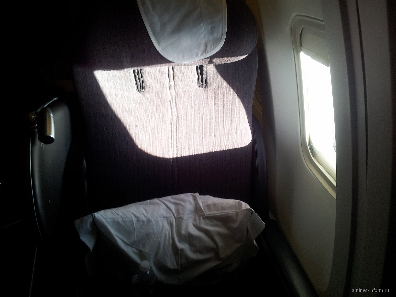 В самолете Боинг-767-300 Британских авиалиний