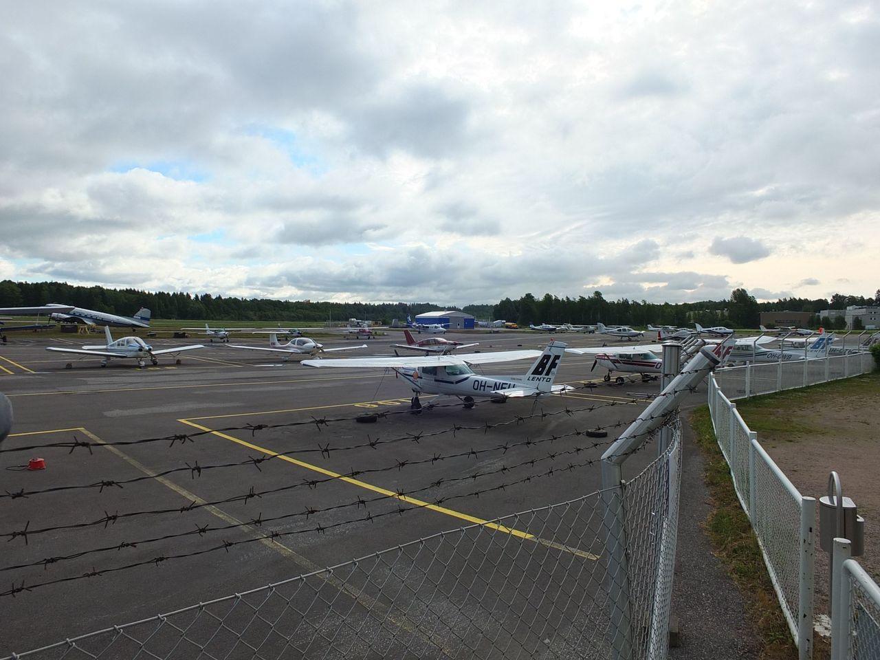Аэропорт Мальми в Хельсинки