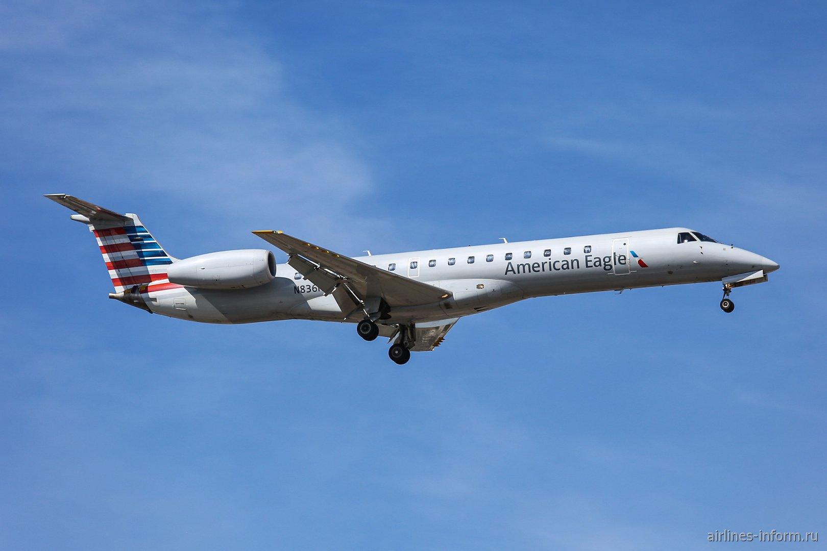 Embraer ERJ-145LR N836HK авиакомпании Trans States Airlines