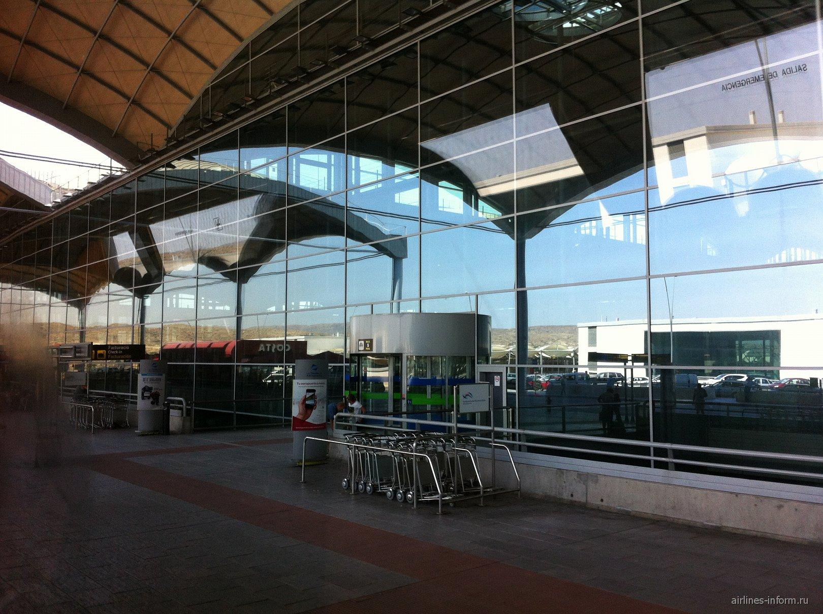 Вход в терминал