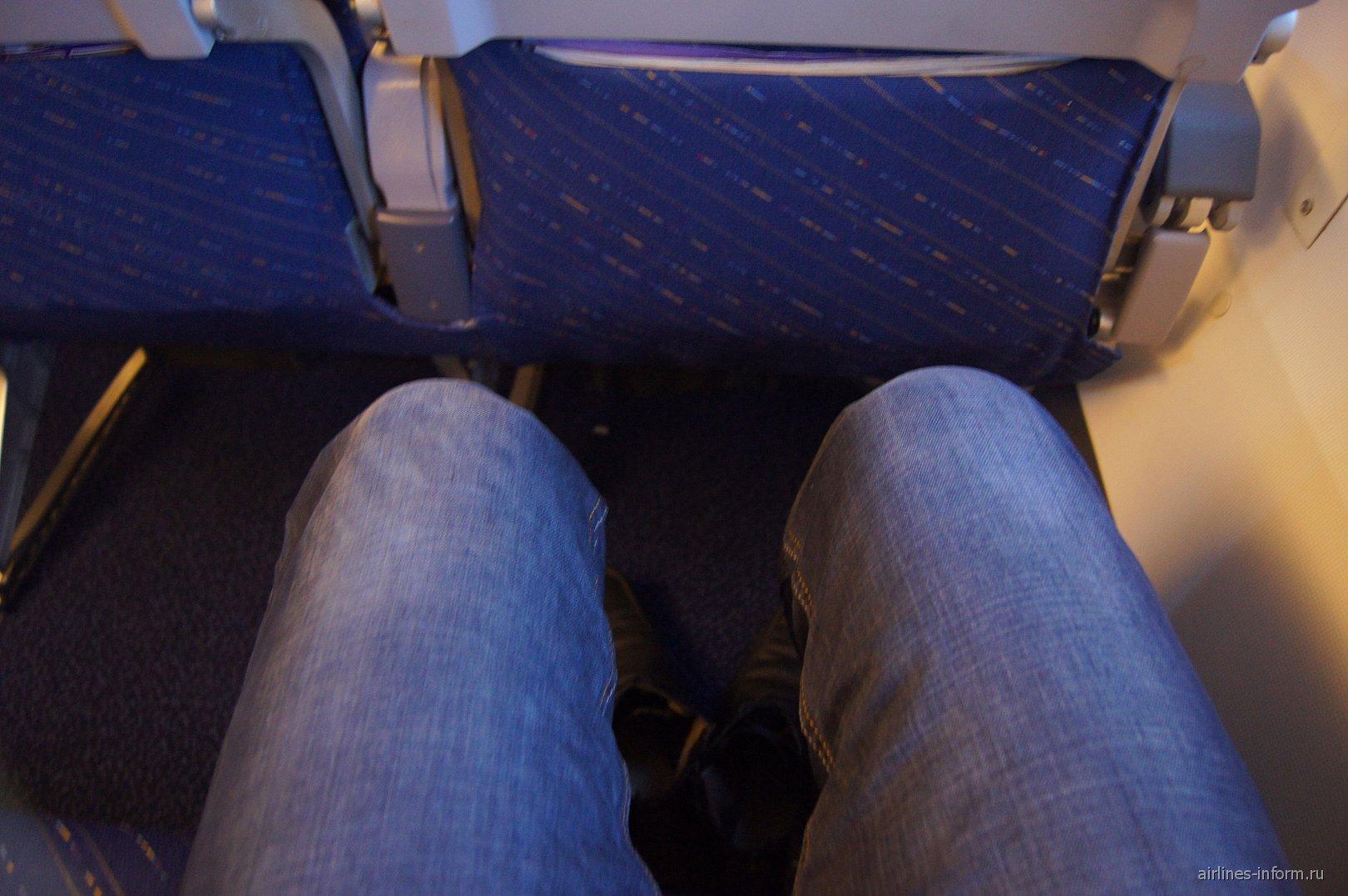 Салон самолета Боинг-737-800 авиакомпании Алроса