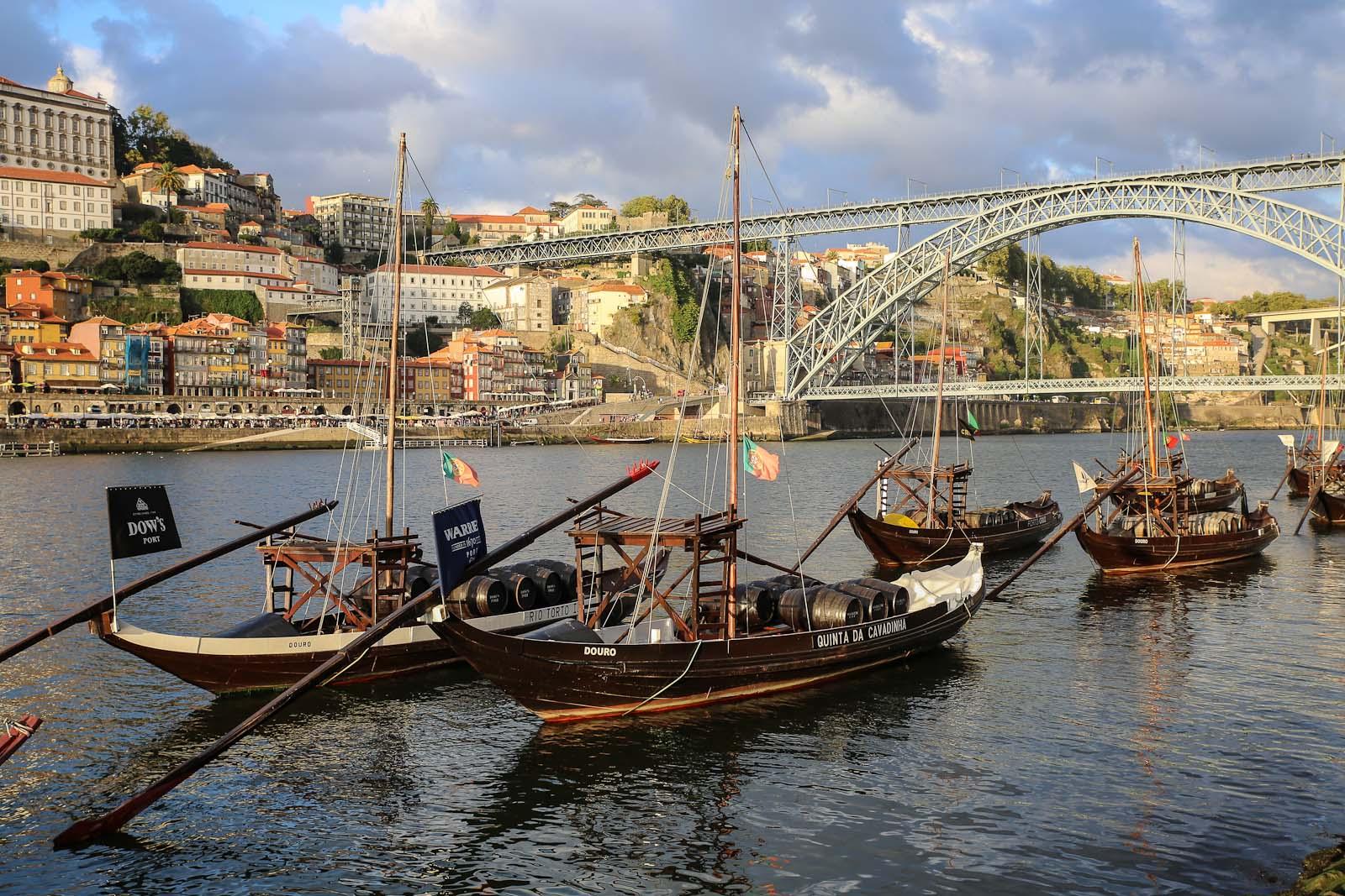 В центре города Порто