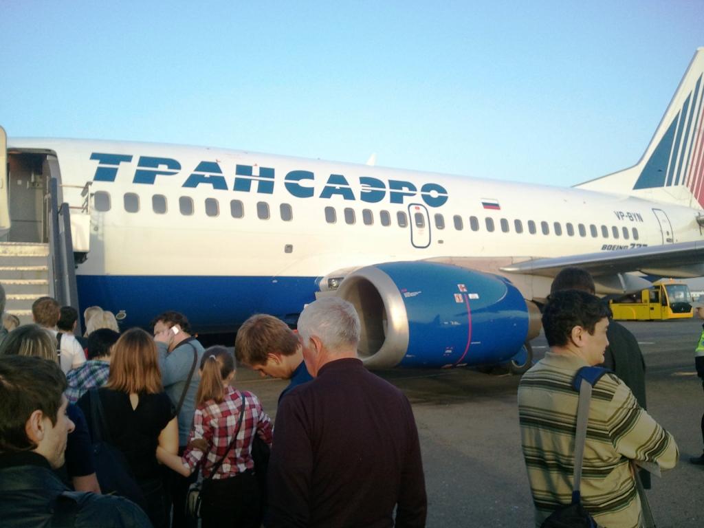 """Улётный"" рейс Трансаэро: Краснодар - Москва - Екатеринбург"