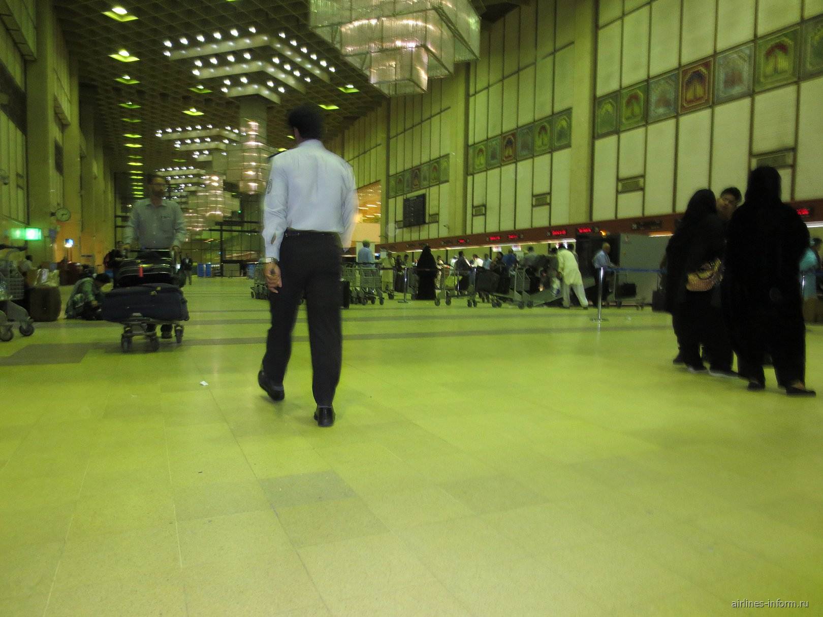В аэропорту Карачи