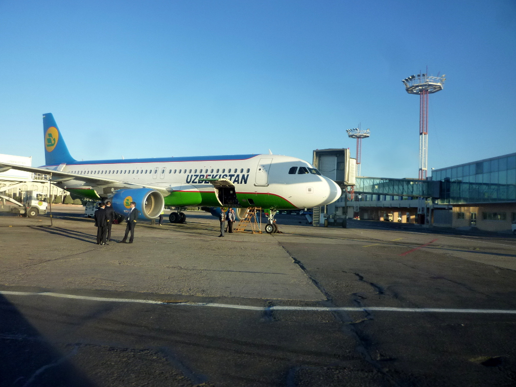 Airbus A320 of Uzbekistan Airways