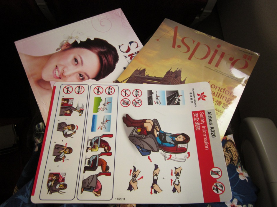 Board magazines of Hong Kong Airlines