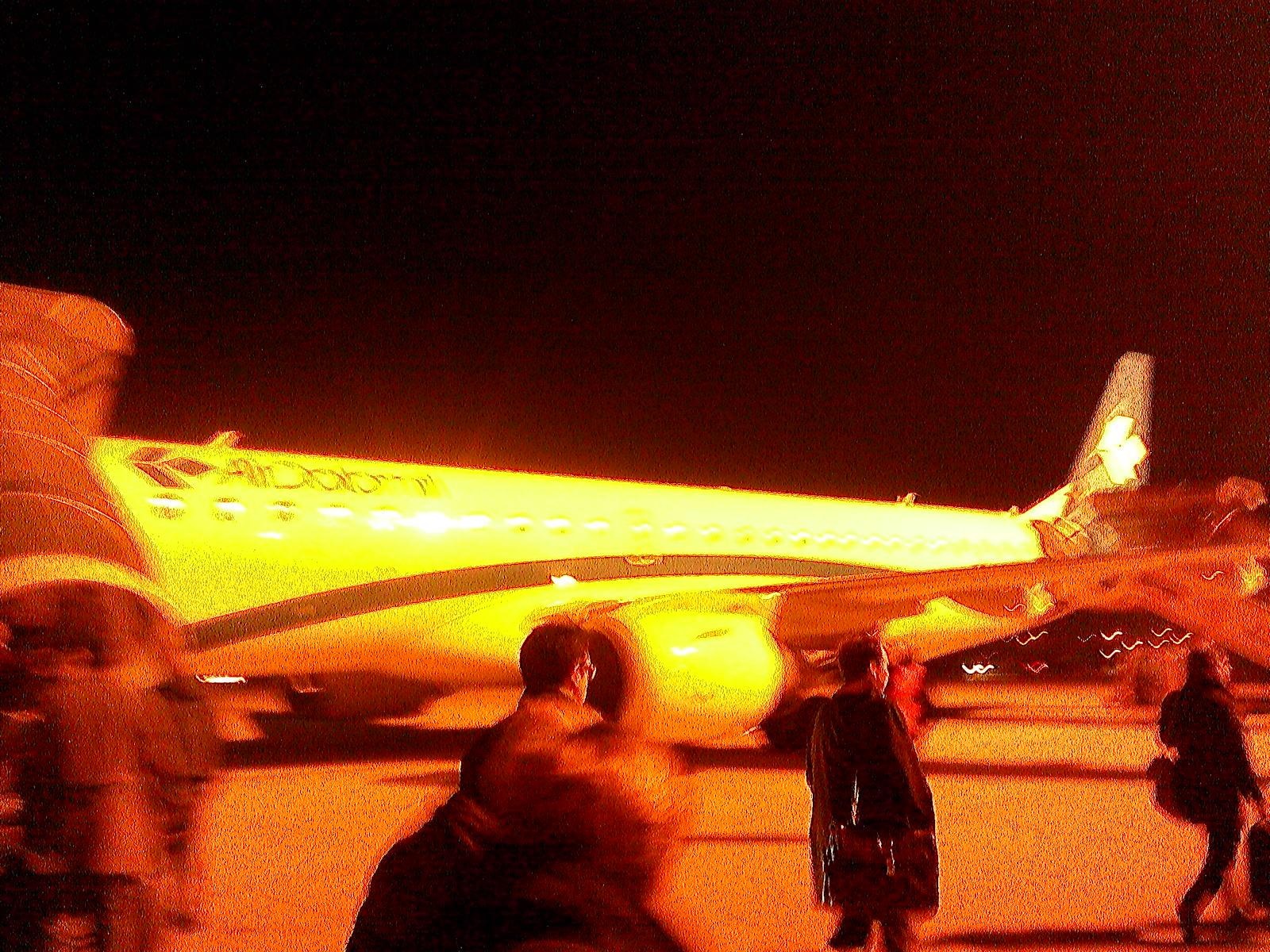 Посадка на рейс Верона-Мюнхен авиакомпании Air Dolomiti