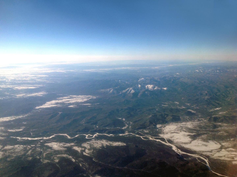 В полете над Дальним Востоком России