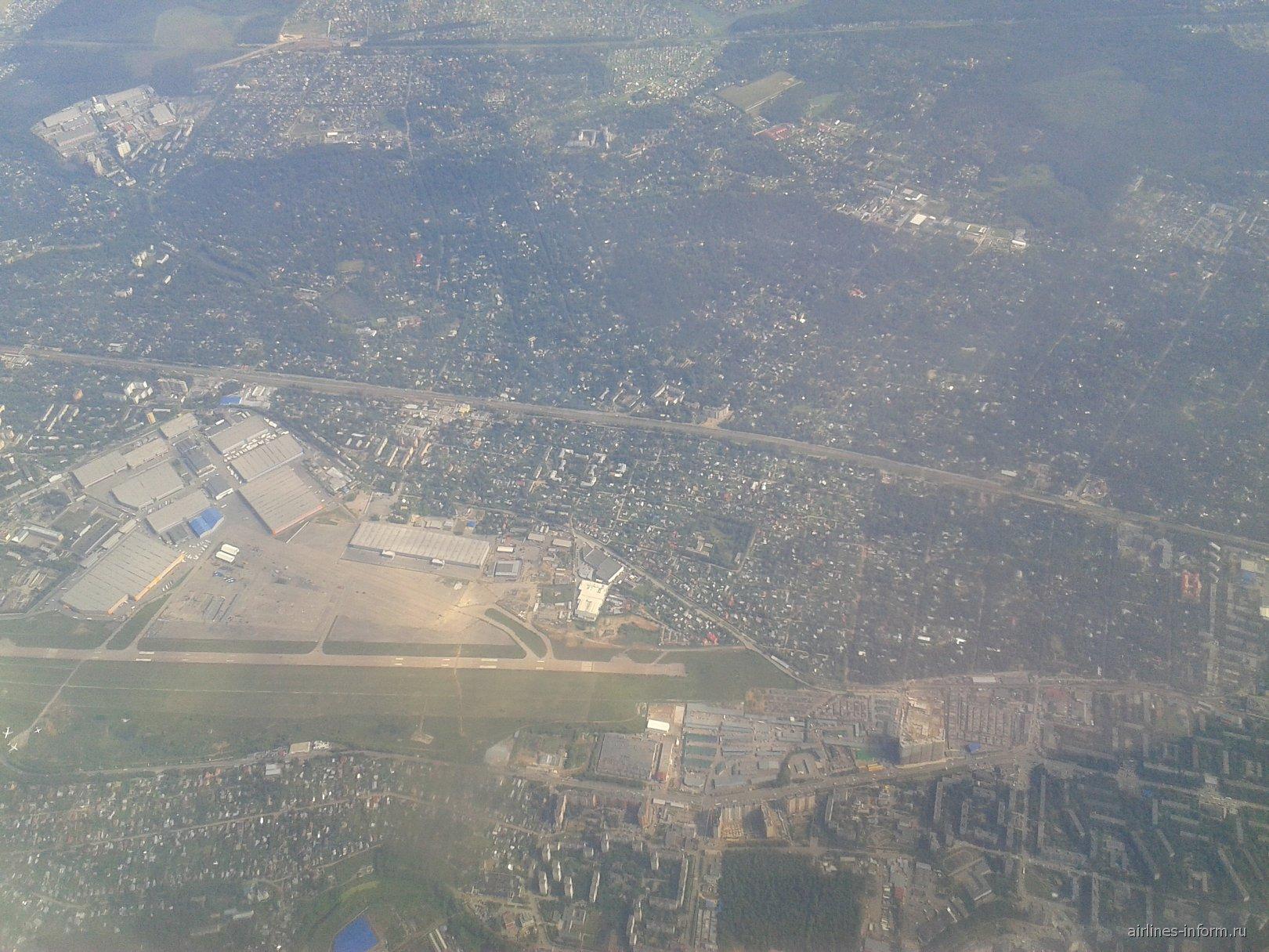 Бывший аэропорт Москва Быково