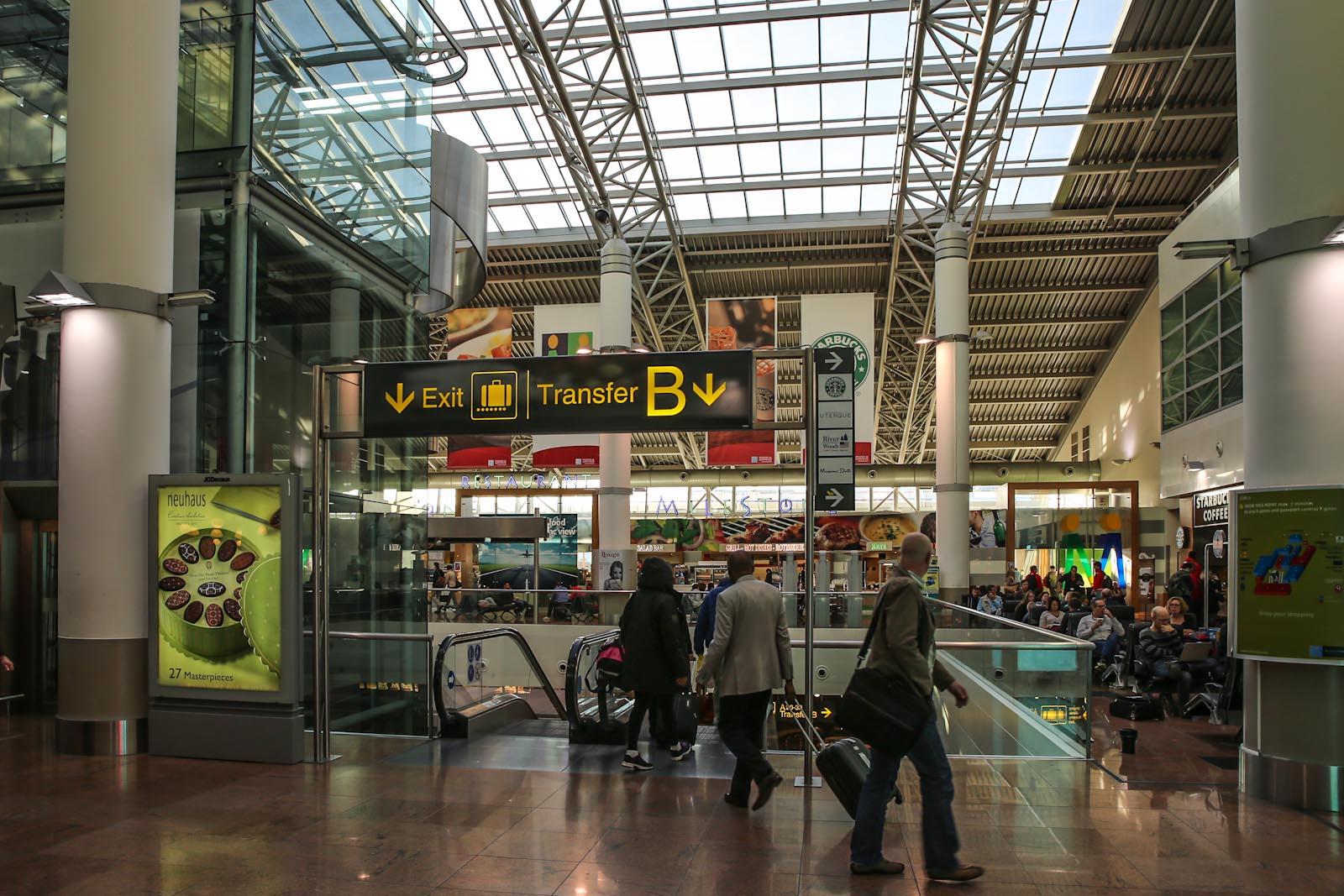 В аэропорту Брюссель