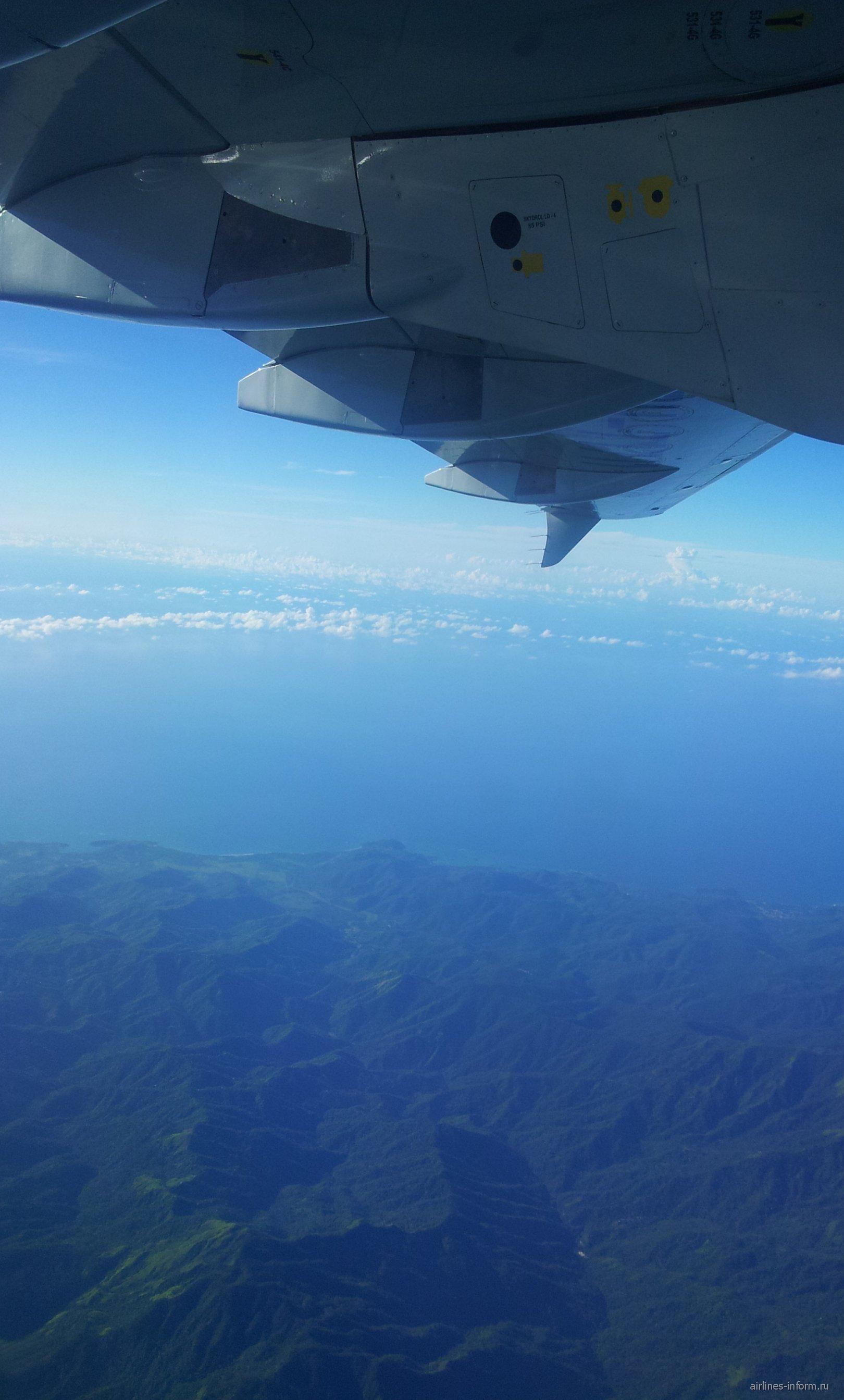 Рейс Сантьяго-де-Куба-Гавана авиакомпании Кубана