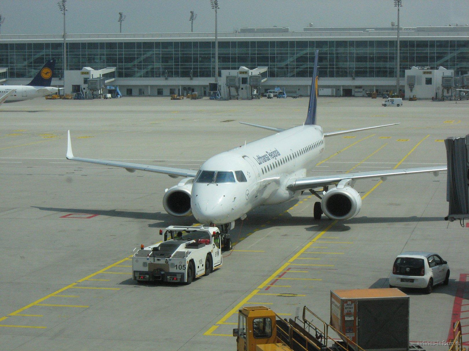 ERJ-195 Lufthansa