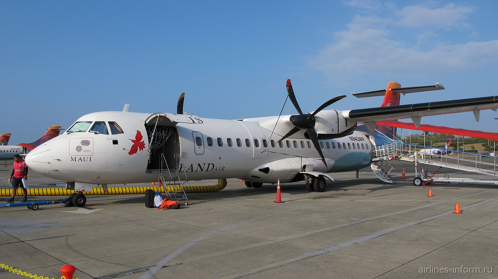Гавайская заметка № 1. Остров Оаху (Гонолулу) – остров Кауаи (Лихуэ) с Island Air