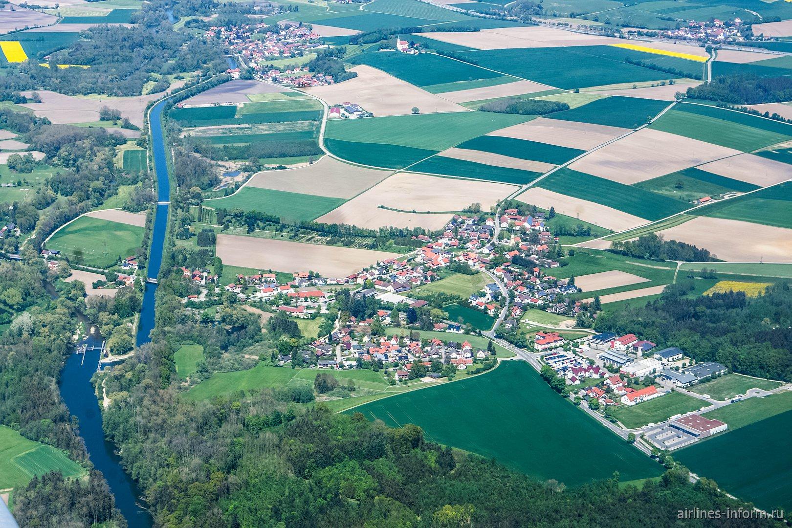 В полете над Баварией