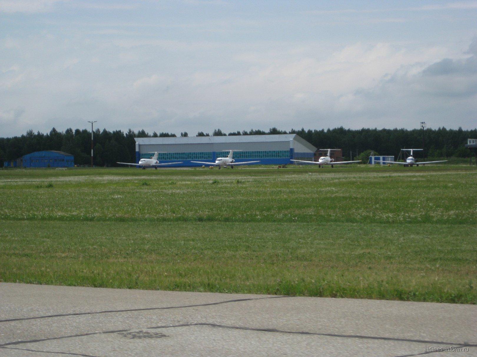 рем. ангар аэропорта Бугульма