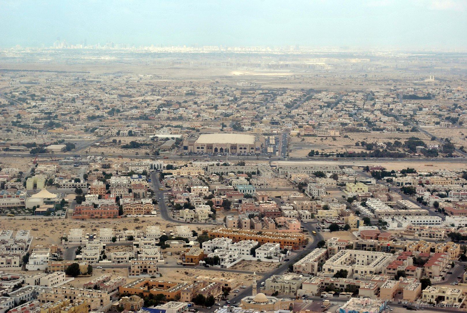 Город Шарджа в ОАЭ