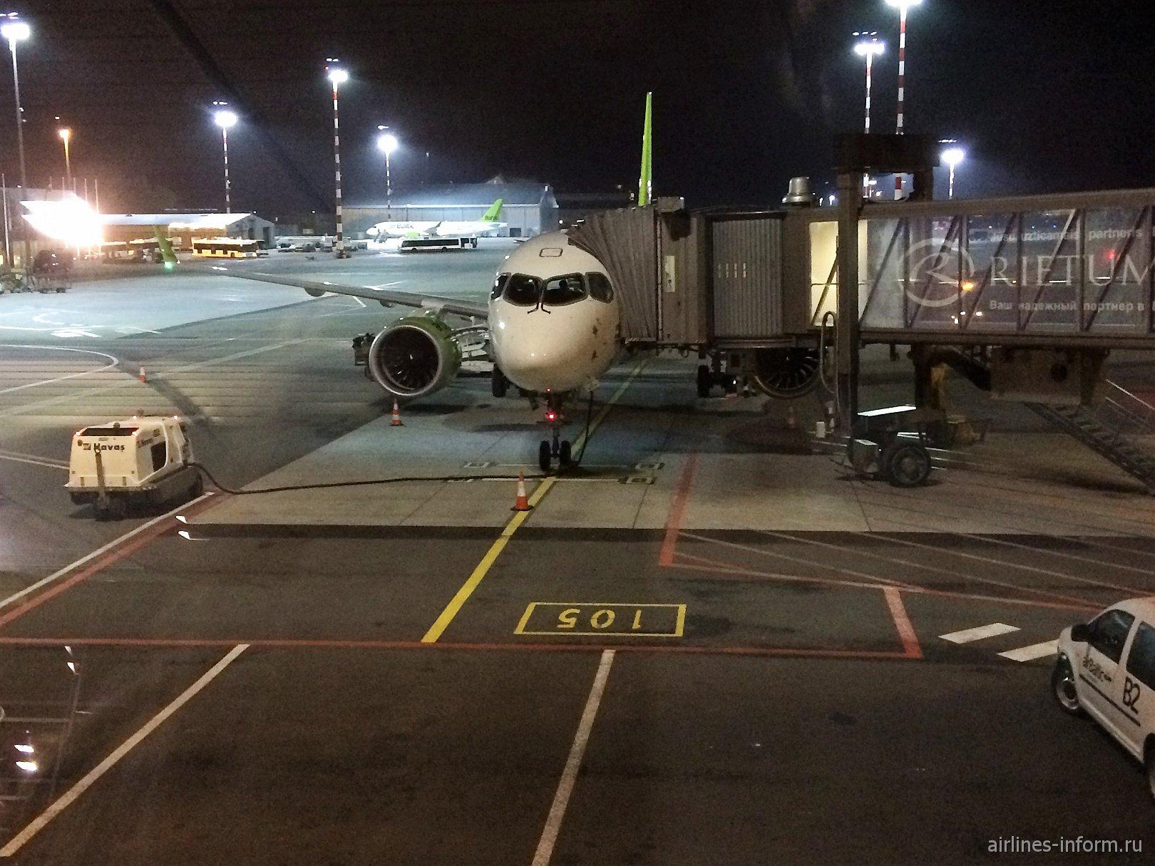 Рига-Мальта с AirBaltic на Bombardier CS300