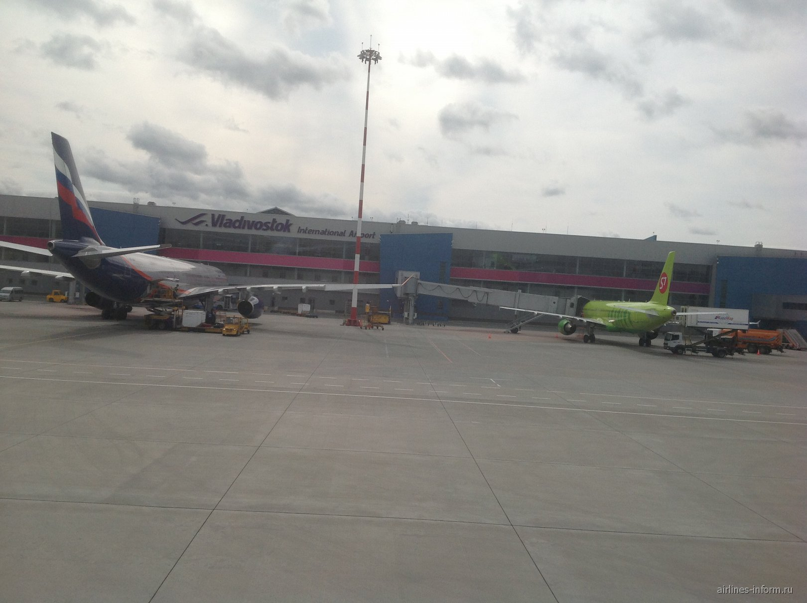 В аэропорту Владивостока