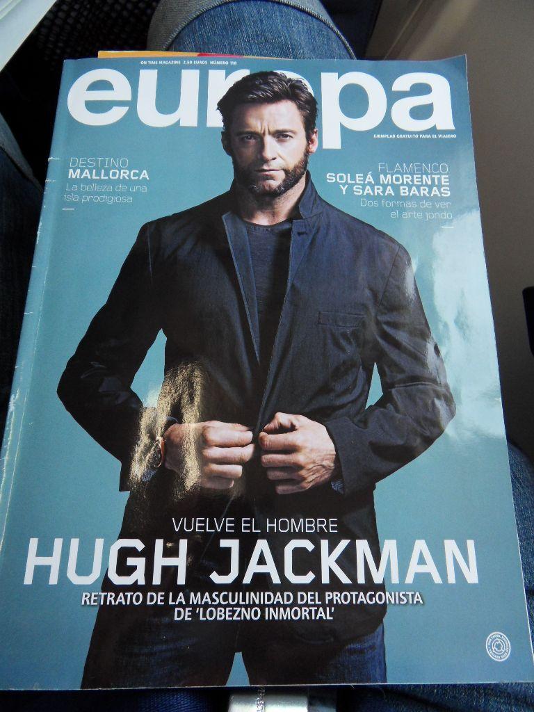 Журнал для пассажиров авиакомпании Air Europa
